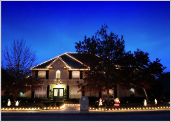christmas lighting installation - christmas light installers - rockwall tx